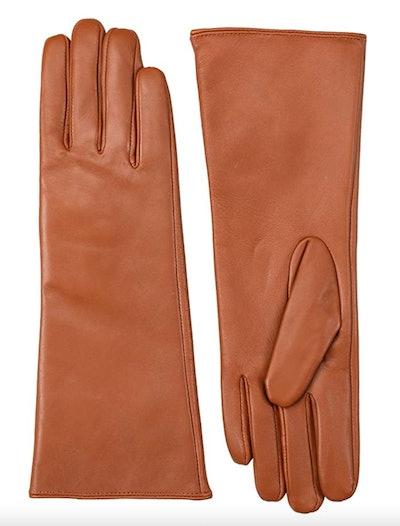 Vikideer Long Genuine Leather Gloves