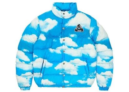 Puffa Jacket Blue Cloud