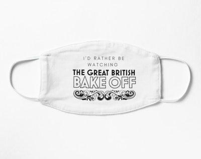 'Great British Bake Off' Face Mask