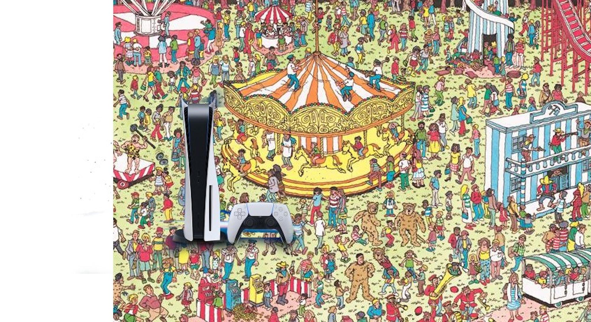 Sony PS5 Where's Waldo