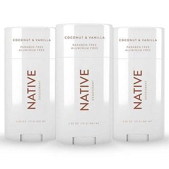 Native Natural Deodorant (3 Pack)
