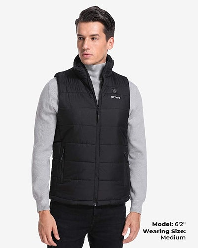 ORORO Men's Lightweight Heated Vest