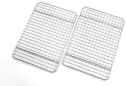 Checkered Chef Quarter Size Baking Rack (Set of 2)
