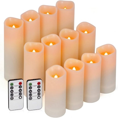 Enido Flameless Candles (12-Pack)
