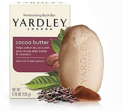 Yardley London Pure Cocoa Butter & Vitamin E Bar Soap (4.2 Oz.)