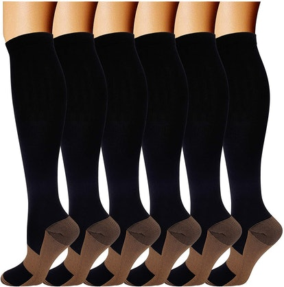 Double Couple Medical Compression Socks (6-Pack)
