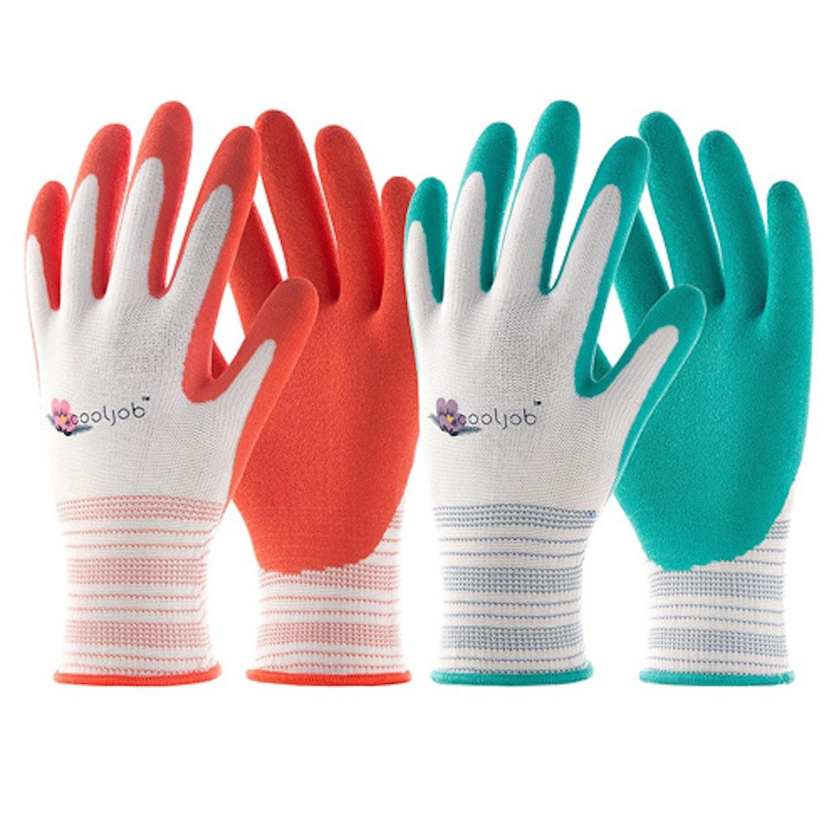 COOLJOB Gardening Gloves For Women (6-Pack)