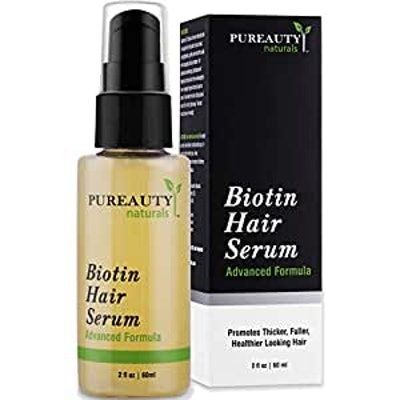 PUREAUTY Biotin Hair Serum (2.5 Fl. Oz.)