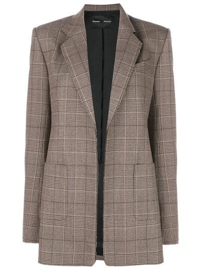 Plaid Suiting Blazer