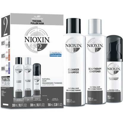Nioxin System Hair Care Kits for Thinning Hair - Full Size (90 Days)