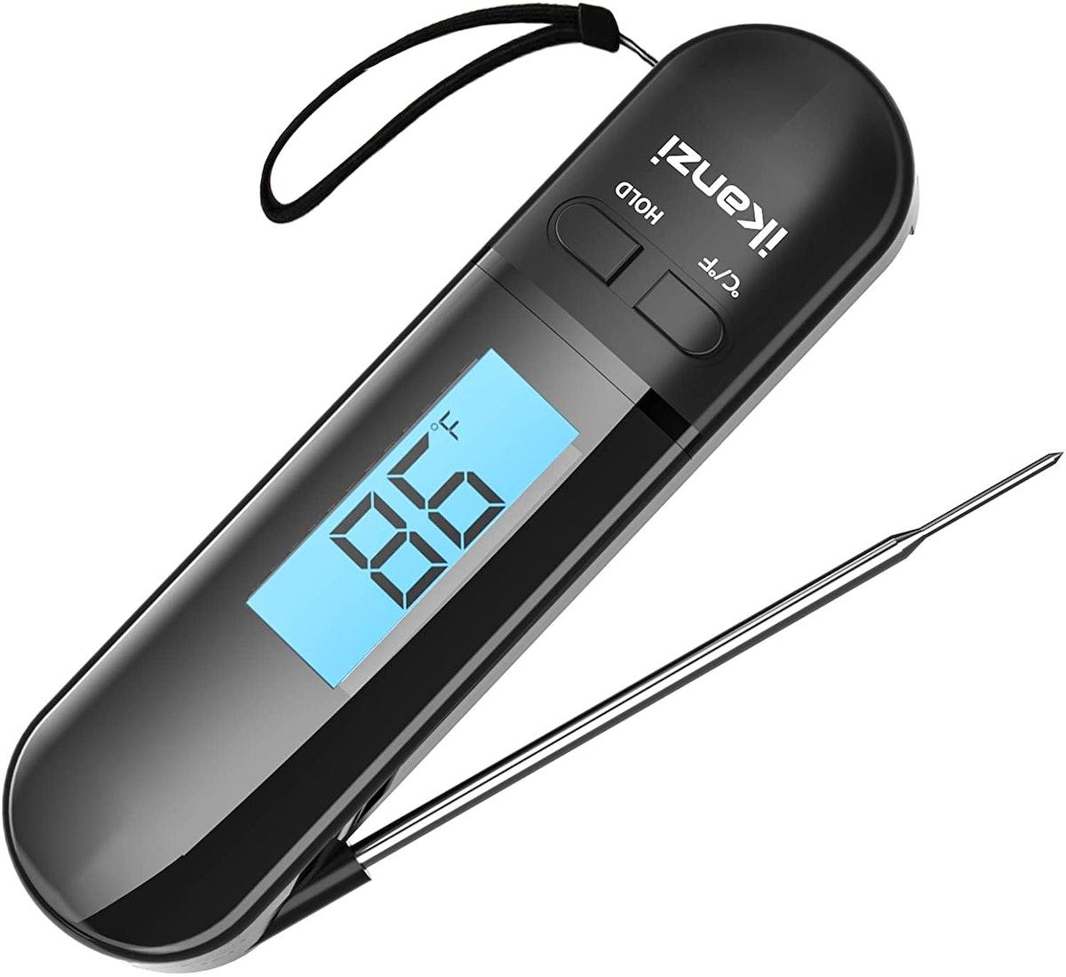 iKanzi Digital Instant Read Meat Thermometer