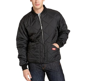 Dickies Water-Resistant Diamond Quilted Nylon Jacket