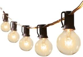 Brightown 50-Foot Outdoor Patio String Lights
