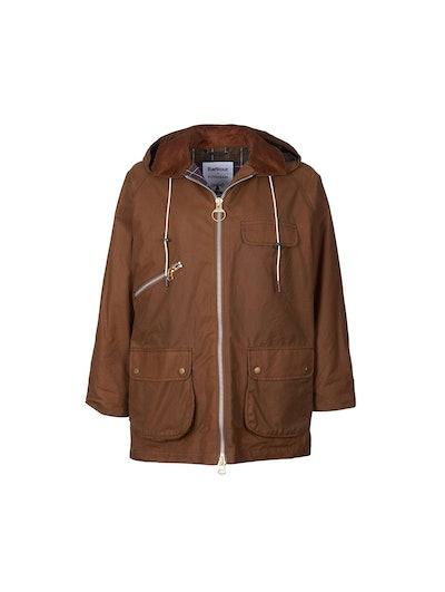 Barbour Violet Wax Jacket