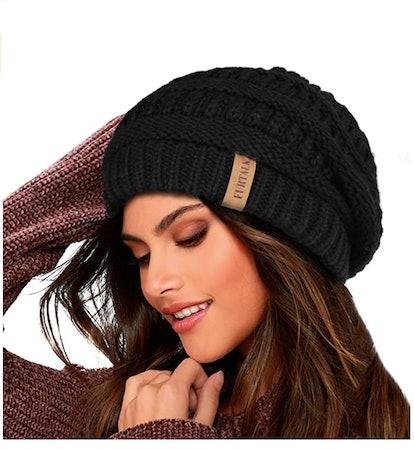 FURTALK Knit Beanie Hat