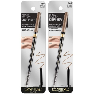 L'Oreal Paris Brow Stylist Definer Waterproof Eyebrow Pencil (2-Pack)