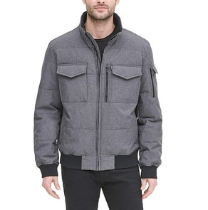 DKNY Quilted Performance Bomber Jacket