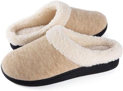 Wishcotton Plush Memory Foam Slippers