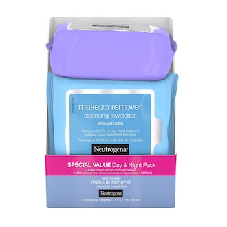 Neutrogena Day & Night Wipes with Makeup Remover (3-Pack)