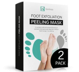 LAVINSO Foot Exfoliation Peeling Mask (2-Pack)