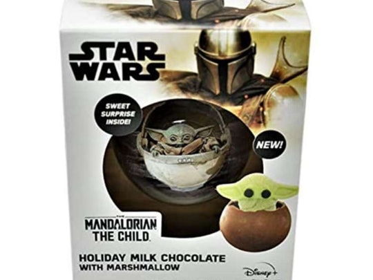 A new Baby Yoda Hot Cocoa Bomb features a sweet surprise.