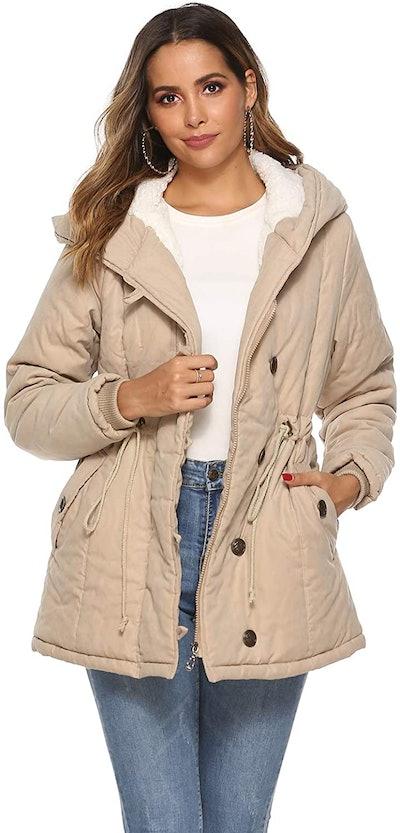 Eleter Women's Warm Winter Coat