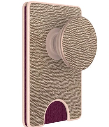 PopSockets PopWallet + (with PopGrip Cell Phone Grip & Stand)