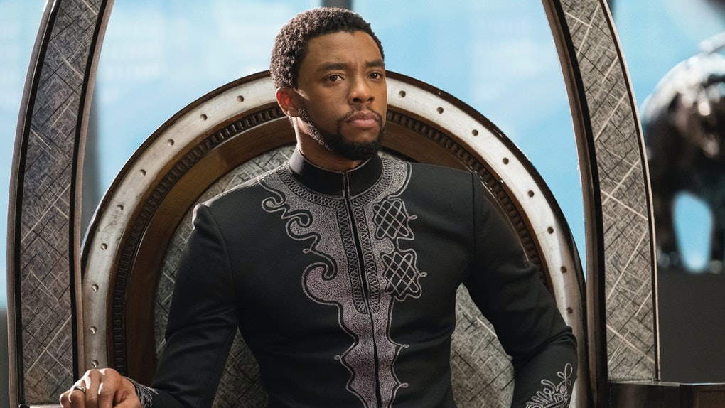 Chadwick Boseman as T'Challa/Black Panther in 2018's 'Black Panther.'