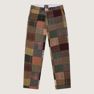 Patchwork Tweed Trousers