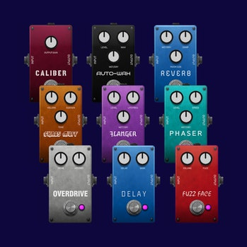 Chaos Audio's Stratus is a guitar pedal that is controlled from a smartphone and these are some of its effects.