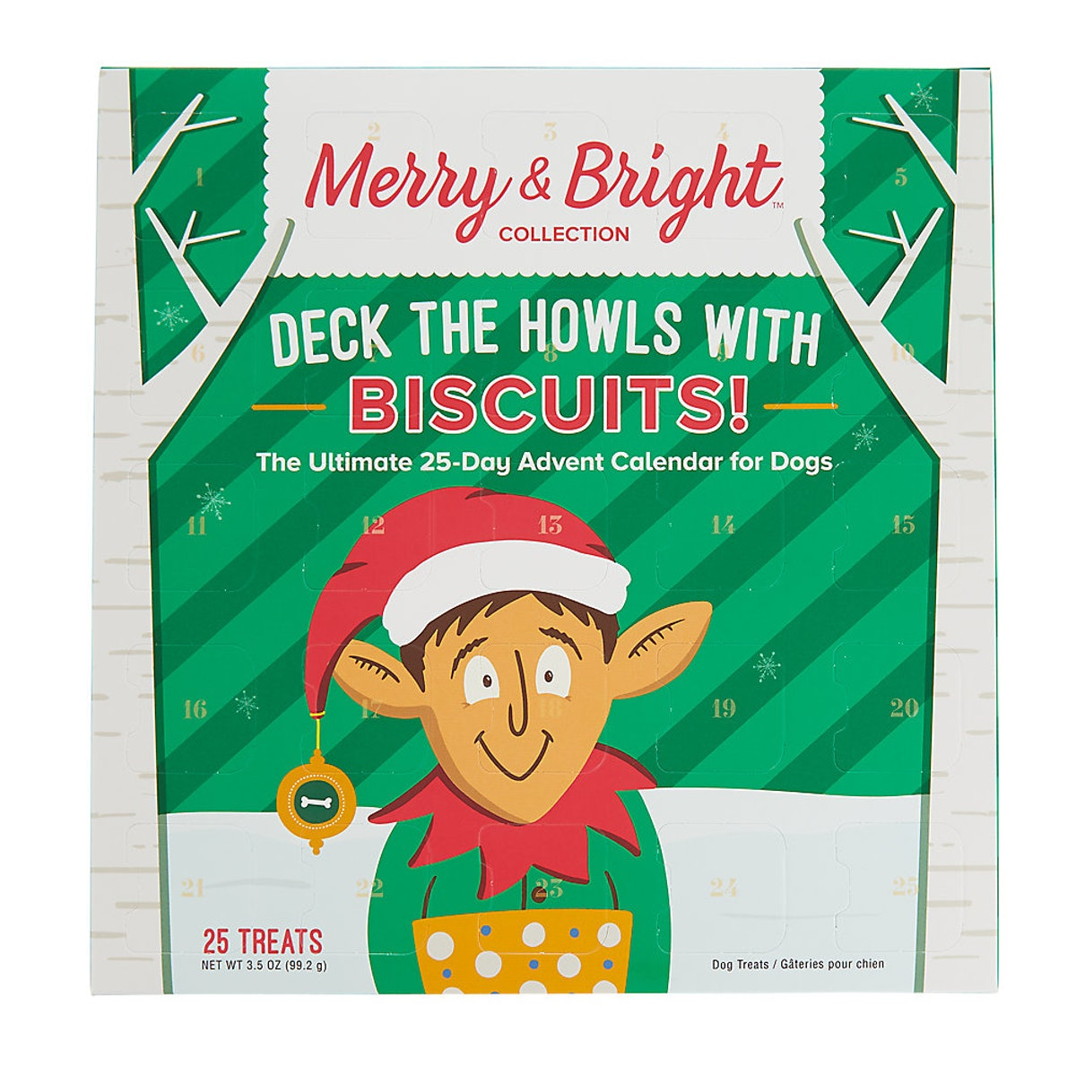 Merry & Bright™ Holiday Deck The Howls with Biscuits Advent Calendar Dog Treat