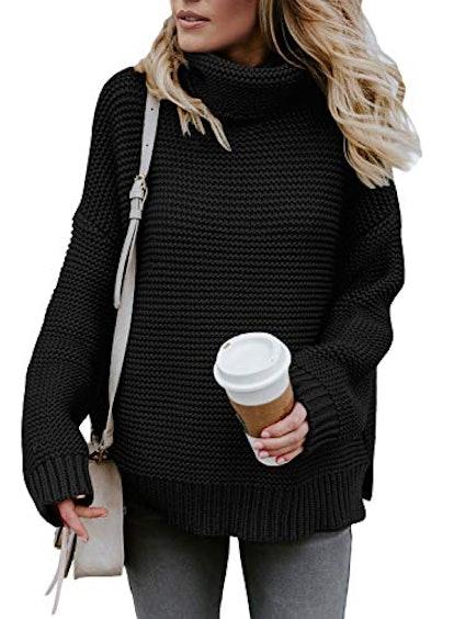 ZKESS Chunky Turtleneck Sweater