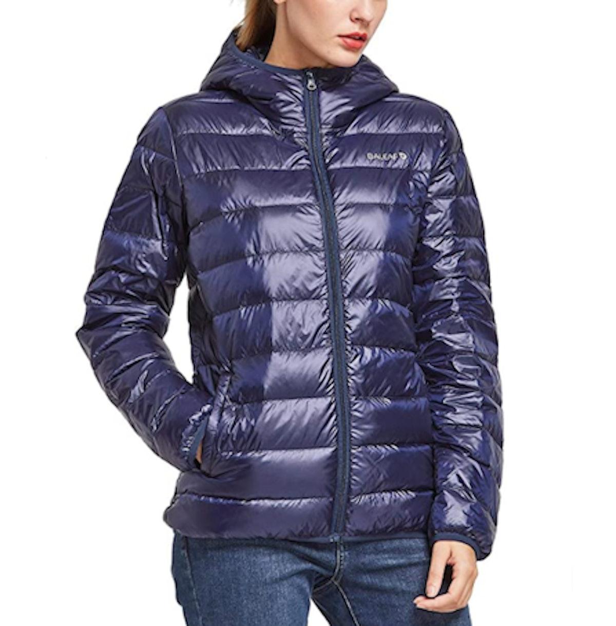 BALEAF Women's Packable Down Jacket