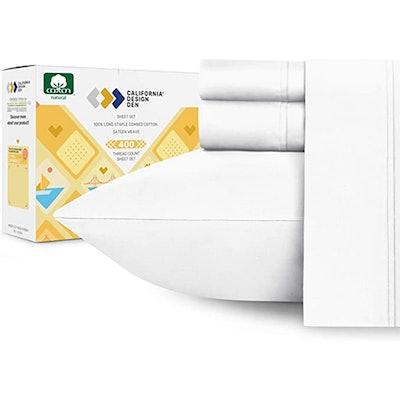 California Design Den Cotton Sheets Set (Queen)