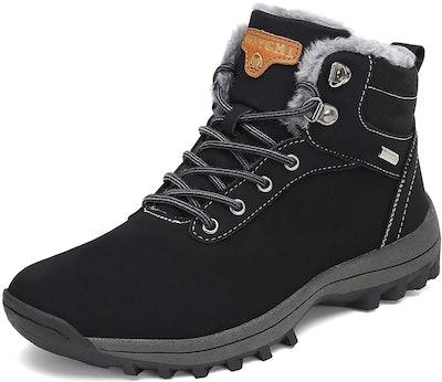 Mishansha Fur-Lined Ankle Shoe
