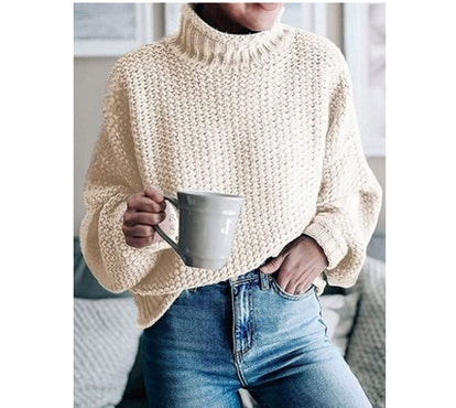 ZESICA Chunky Knit Turtleneck