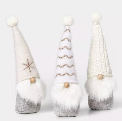 3ct Mini Gnomes Decorative Figurines