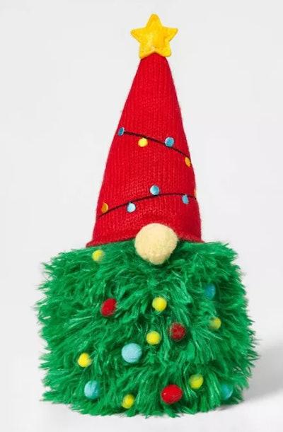 Christmas Tree Gnomes Decorative Figurine Green
