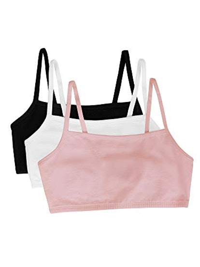 Fruit of the Loom Pullover Sports Bras (3-Pack)