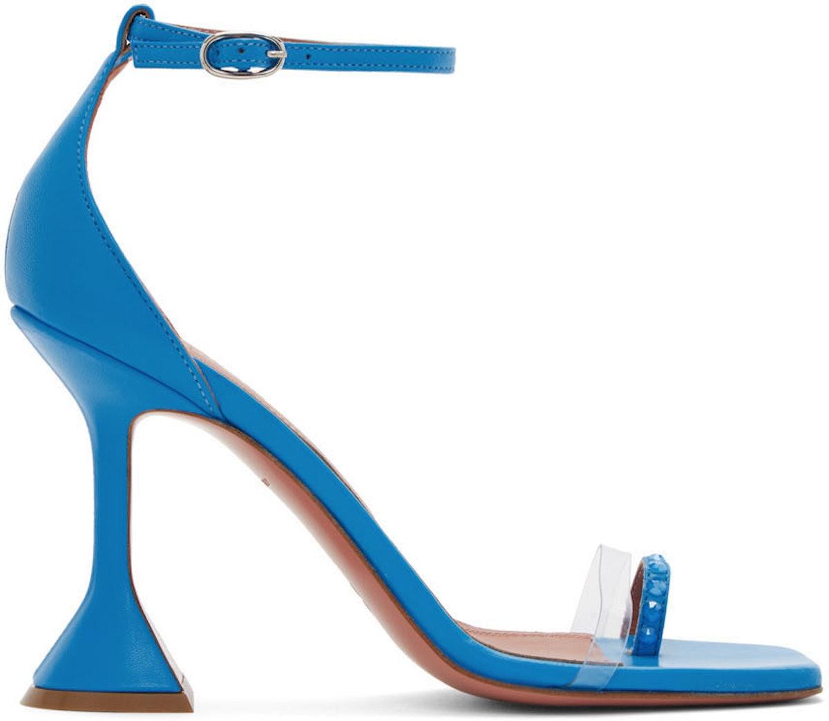 Blue Oya Heeled Sandals