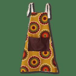 Children's Apron — Yellow Florettes