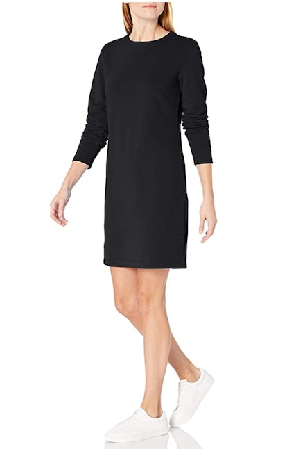 Amazon Essentials Crewneck Terry Fleece Dress