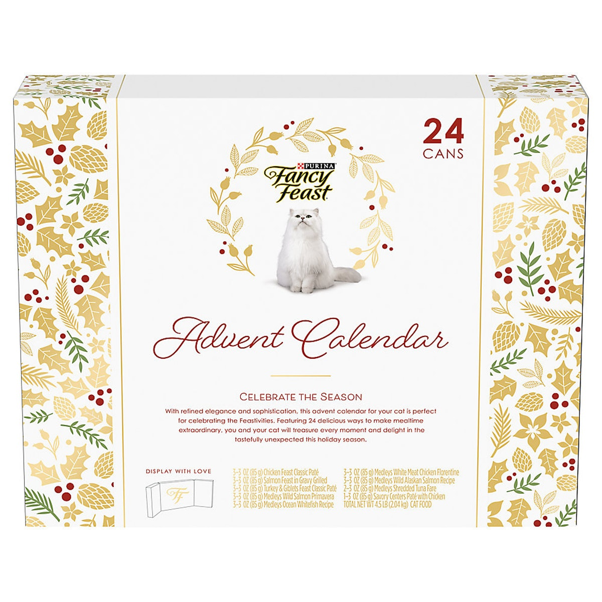 Fancy Feast® Advent Calendar Cat Food - Variety Pack, 24 ct