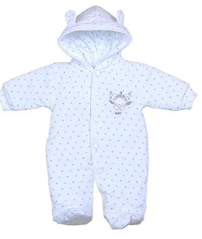 BabyPrem Preemie Cotton Snowsuit