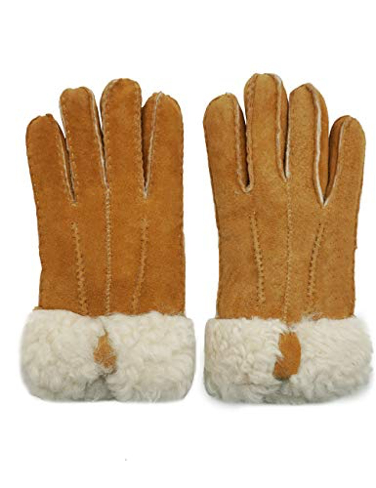 YISEVEN Sheepskin and Shearling Leather Gloves