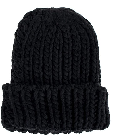 UNDER ZERO Chunky Knitted Hat
