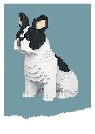Jekca Plastic Bricks French Bulldog (10+)