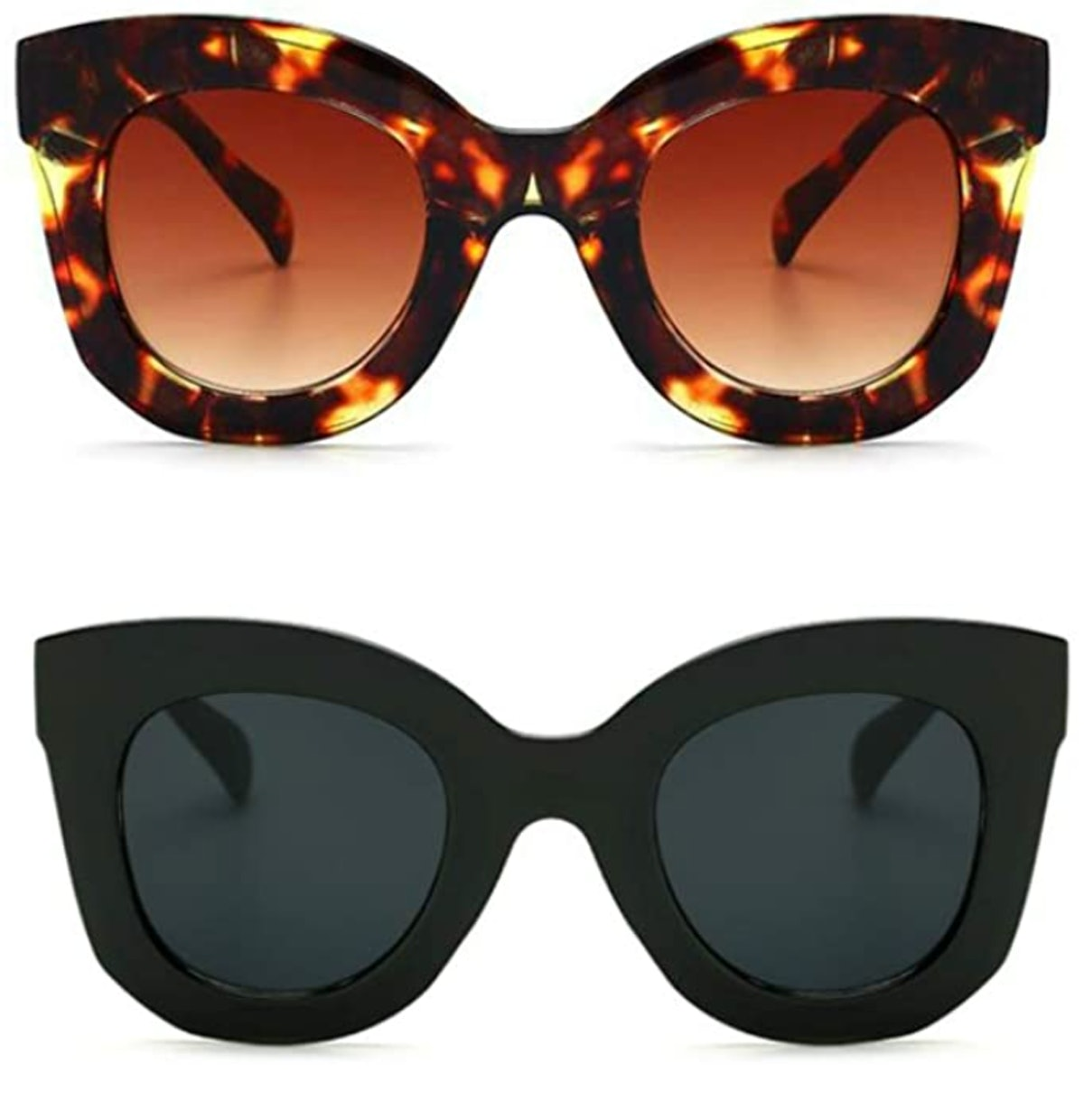 Freckles Mark Butterfly Sunglasses (2-Pack)