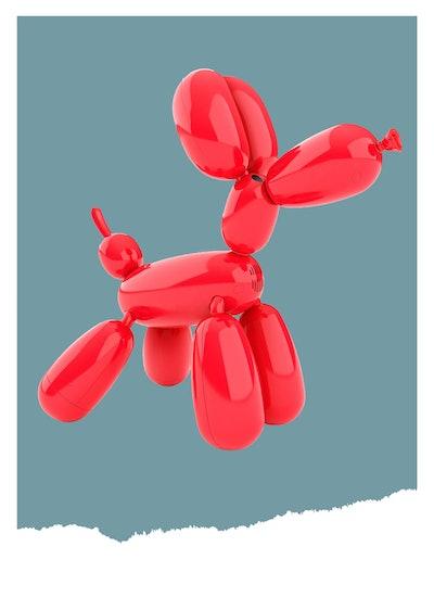 Squeakee The Interactive Balloon Dog (5+)