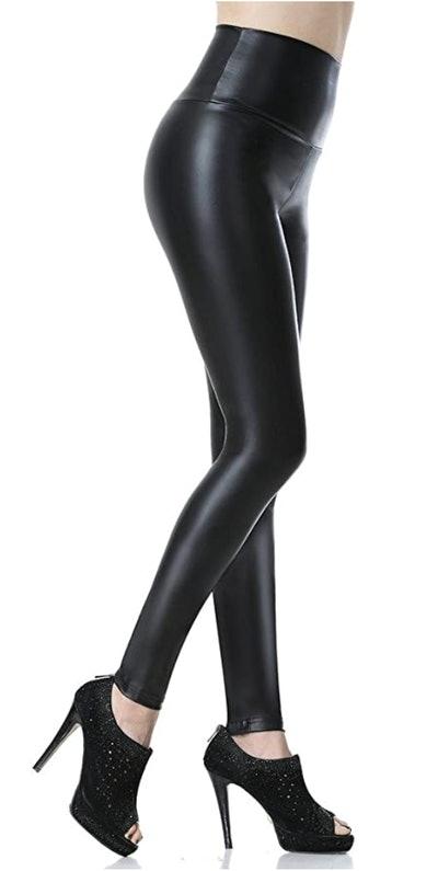 Everbellus Faux Leather Leggings